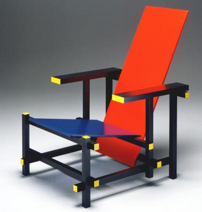 Gerrit Rietveld RedBlue stolac chair